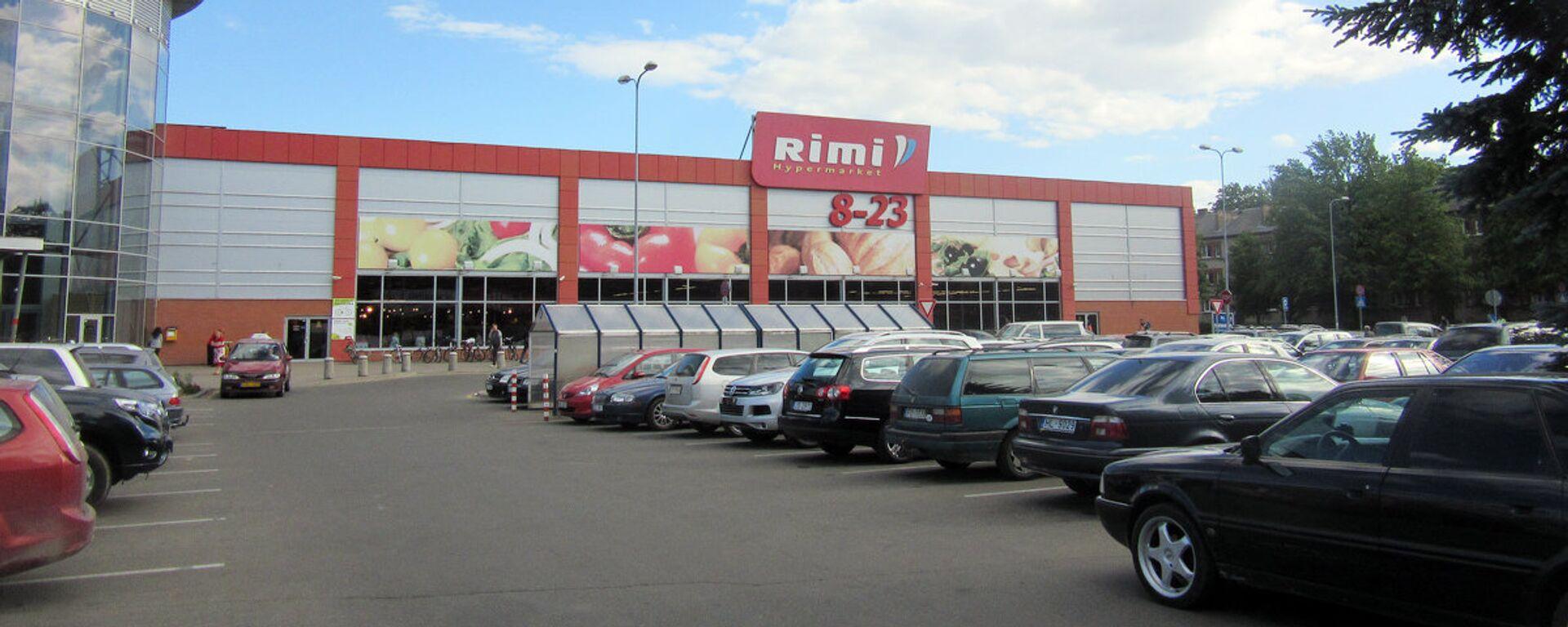 Гипермаркет Rimi - Sputnik Латвия, 1920, 29.03.2021
