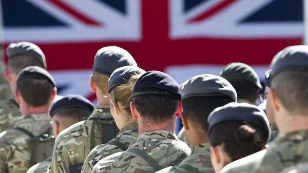 Британские военные - Sputnik Латвия