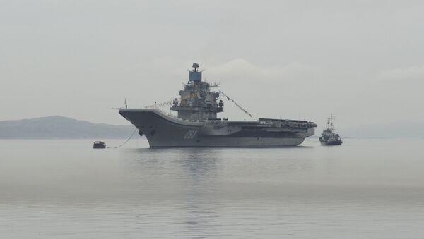 Тяжёлый авианесущий крейсер Адмирал Флота Советского Союза Кузнецов - Sputnik Латвия