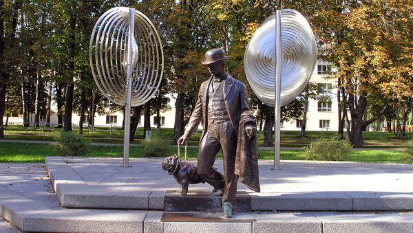 Памятник Павлу Фёдоровичу Дубровину в Даугавпилсе - Sputnik Латвия