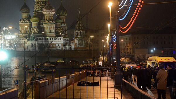 Борис Немцов убит в центре Москвы - Sputnik Latvija