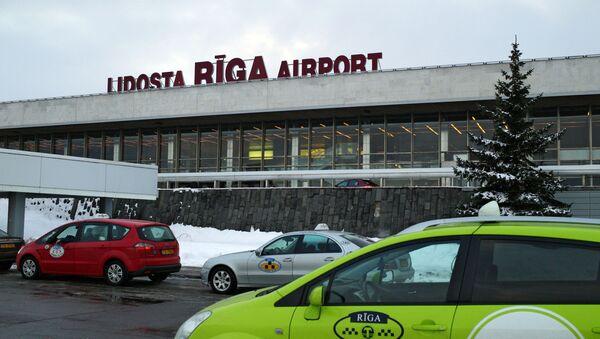 Работа международного аэропорта Рига - Sputnik Latvija