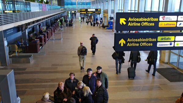 Darbs starptautiskajā lidostā Rīga - Sputnik Latvija