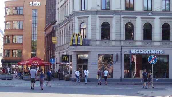 McDonalds Rīgā - Sputnik Latvija