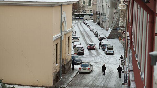 Заснеженные улицы Риги - Sputnik Latvija