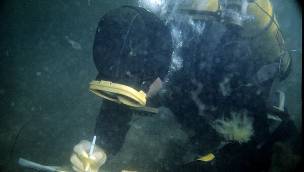 Zemūdens arheologs. Foto no arhīva - Sputnik Latvija