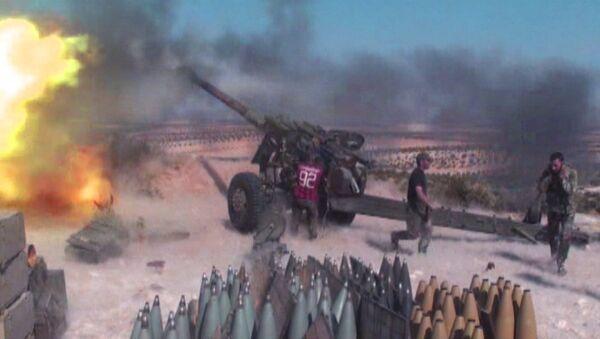 Sīrijas karavīri atvairījuši kaujinieku uzbrukumu Hamas provincē - Sputnik Latvija