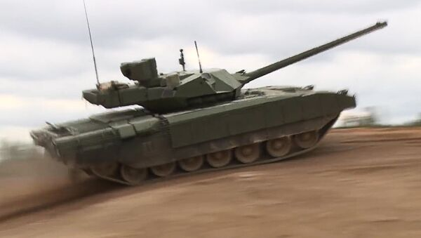 Krievijas jaunā revolucionārā tanka T-14 Armata - Sputnik Latvija