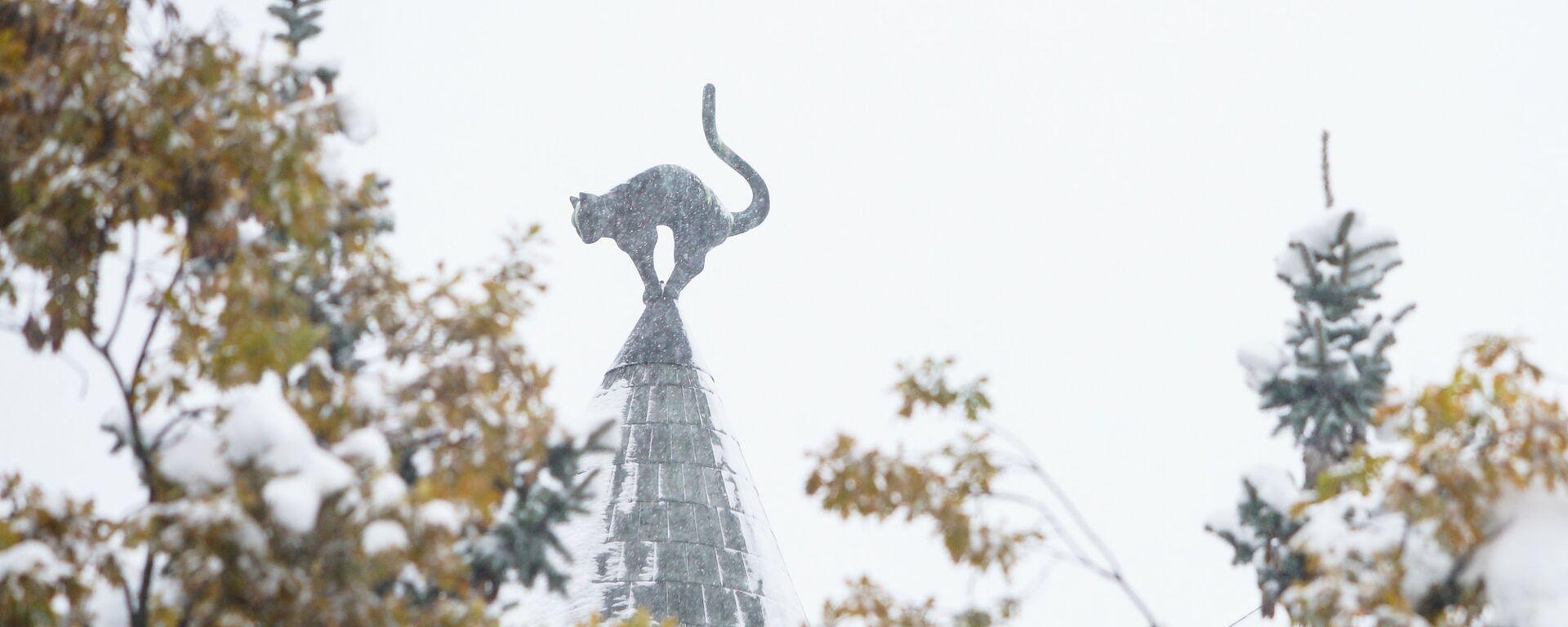 Рига под снегом - Sputnik Латвия, 1920, 18.09.2021