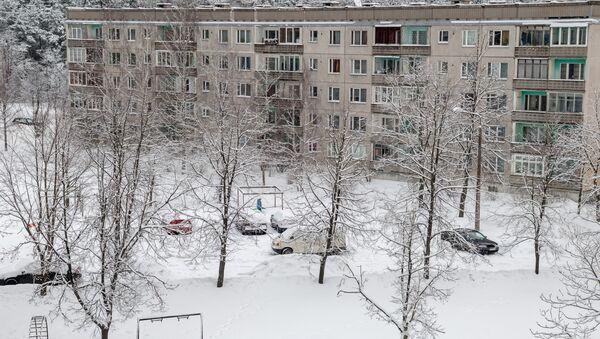 Снег в Риге Пурвциемс - Sputnik Латвия