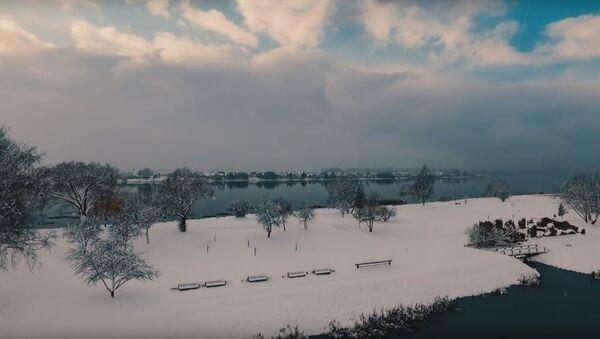 Sniegotā Rīga novembrī. Foto no arhīva - Sputnik Latvija
