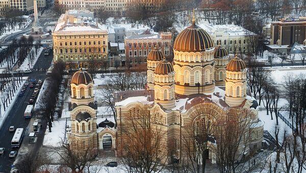 Кафедральный православный собор Риги - Sputnik Латвия
