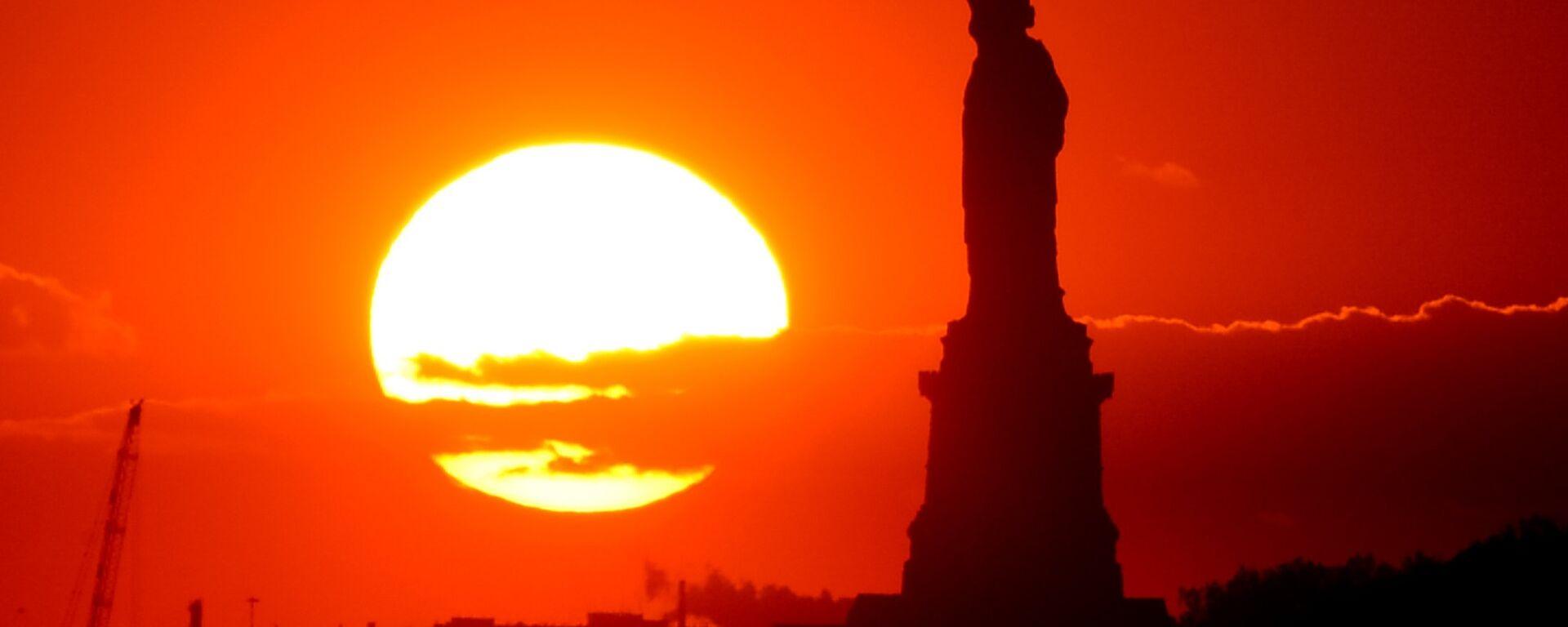Статуя Свободы в Нью-Йорке - Sputnik Latvija, 1920, 10.04.2021
