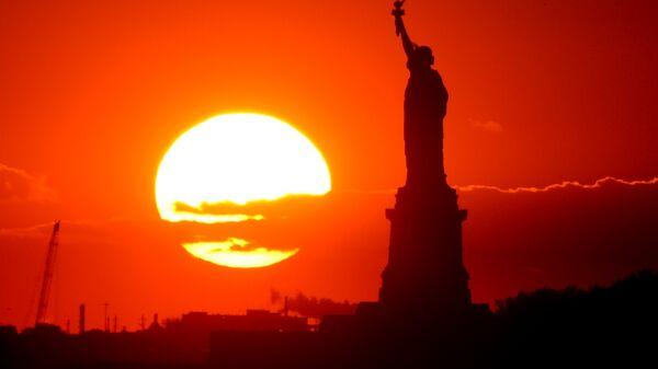 Статуя Свободы в Нью-Йорке - Sputnik Latvija