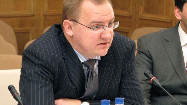 Раймондс Янсонс, пресс-секретарь МИД Латвии - Sputnik Латвия