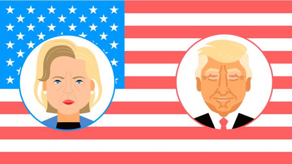 Выборы президента США - 2016 - Sputnik Латвия
