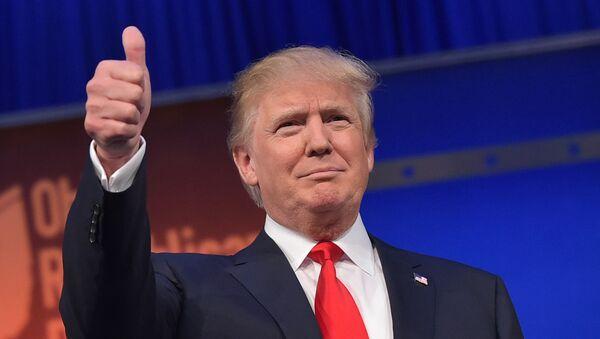 Дональд Трамп победитель президентских гонок в США - Sputnik Latvija
