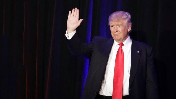 Дональд Трамп победитель президентских гонок в США - Sputnik Латвия