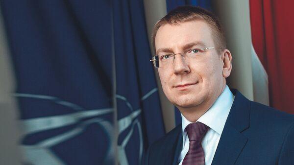 Эдгарс Ринкевичс министр иностранных дел Латвии - Sputnik Латвия