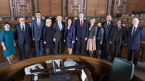 Члены партии Единство - Sputnik Латвия