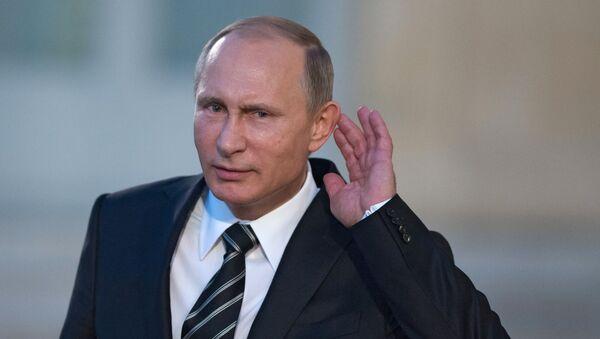 Krievijas prezidents Putins. Foto no arhīva - Sputnik Latvija