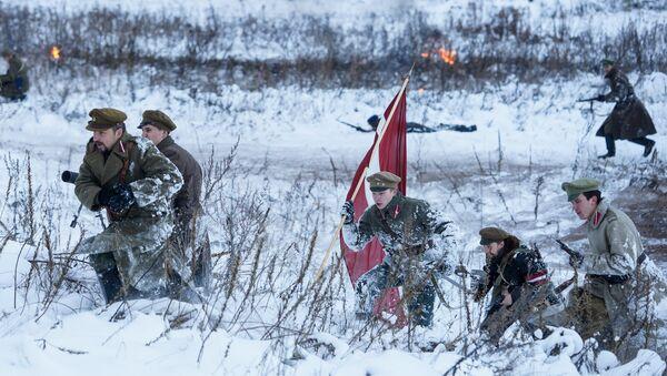 Реконструкция боёв за независимость Латвии 11 ноября 1919 года - Sputnik Latvija