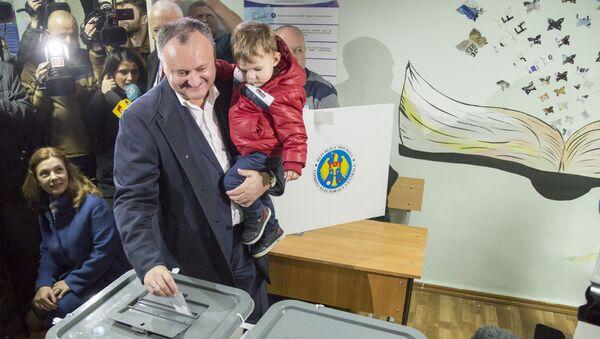 Moldovas jaunais prezidents Igors Dodons. Foto no arhīva - Sputnik Latvija