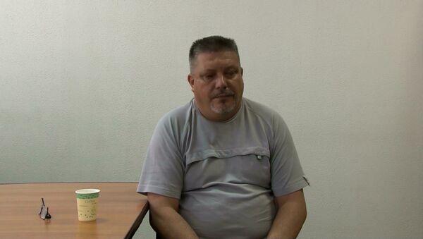 Допрос задержанных в Севастополе украинских диверсантов. Оперативная съемка - Sputnik Латвия