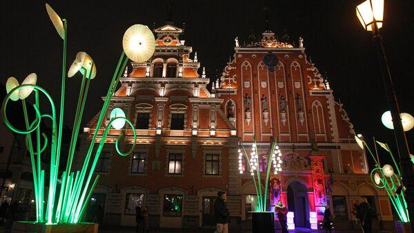 Фестиваль света Staro Rīga - Sputnik Латвия
