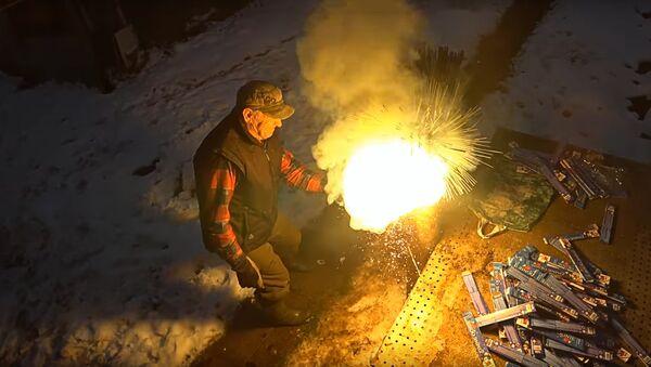 Тысяча бенгальских огней в тыкве - Sputnik Латвия
