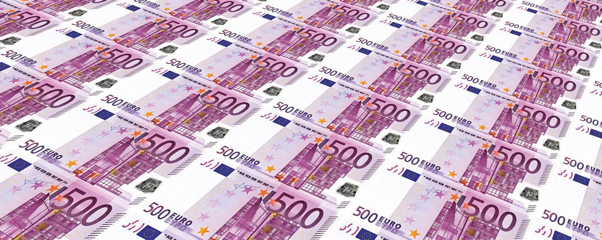 Валюта евро - Sputnik Латвия, 1920, 23.03.2021