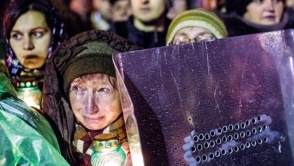 Майдан февраль 2014 года - Sputnik Латвия