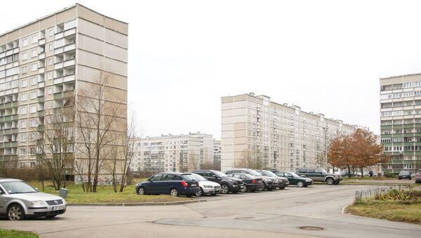 Типичный городской пейзаж Зиепниекалнса - Sputnik Латвия
