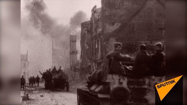 Sarkanās armijas Baltijas valstu teritorijas atbrīvošanas operācija no vācu karaspēka noslēdzās 1944. gada 24. novembrī. - Sputnik Latvija