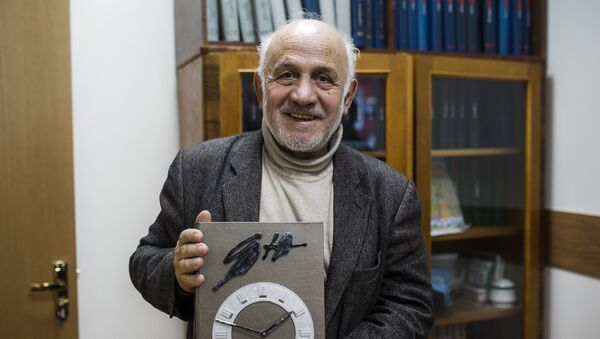 Главный редактор журнала Дружба народов Александр Эбаноидзе - Sputnik Латвия