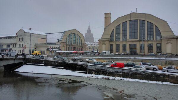 Центральный рижский рынок - Sputnik Латвия