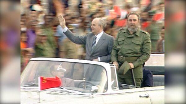 Фидель Кастро умер в возрасте 90 лет. Кадры с кубинским революционером - Sputnik Латвия