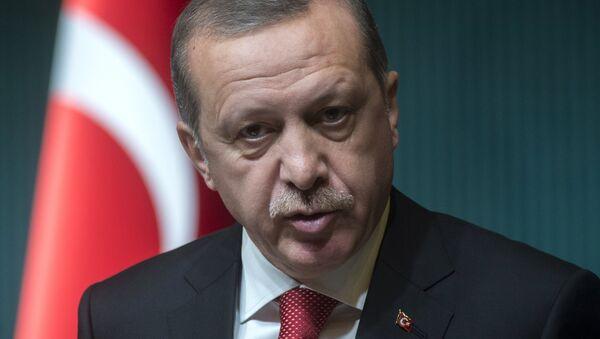 Turcijas prezidents Redžeps Tajips Erdogans. Foto no arhīva - Sputnik Latvija