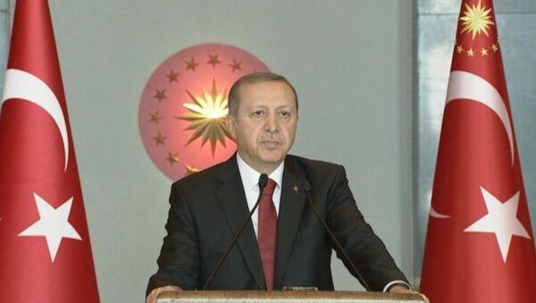 Эрдоган рассказал, кто устроил взрыв в центре Стамбула - Sputnik Латвия
