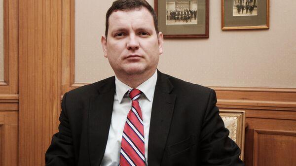 Посол Латвии в Украине Юрис Пойканс - Sputnik Латвия