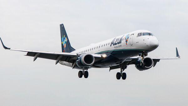 Brazīlijas aviokompānijas lidmašīna - Sputnik Latvija
