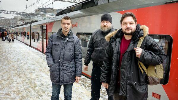 Наивные путешественники в Москве - Sputnik Латвия