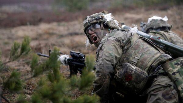 ASV NATO karavīri. Foto no arhīva - Sputnik Latvija