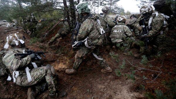 Jaunas vērienīgas NATO mācības Latvijā gaidāmas aprīlī. Foto no arhīva - Sputnik Latvija