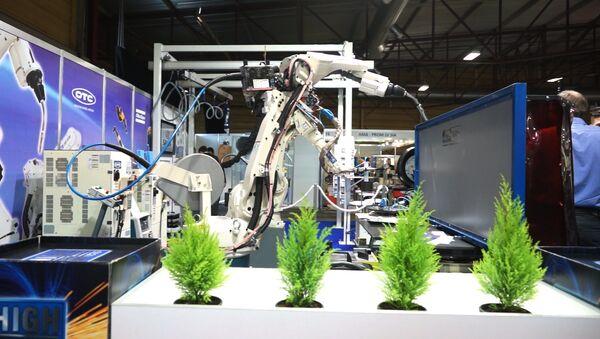 Чудеса прогресса на международной выставке Tech Industry 2016 - Sputnik Латвия