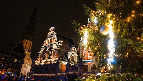 Рига в Рождество - Sputnik Латвия