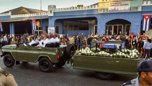 Похороны Фиделя Кастро - Sputnik Латвия