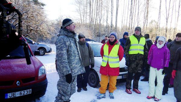 Поисковое мероприятие в Руйене - Sputnik Латвия