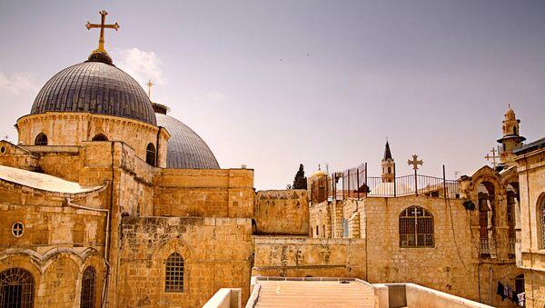 Храм Гроба Господня в Иерусалиме - Sputnik Latvija