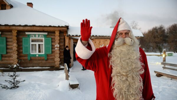 Somijas Ziemassvētku vecītis Joulupukki - Sputnik Latvija